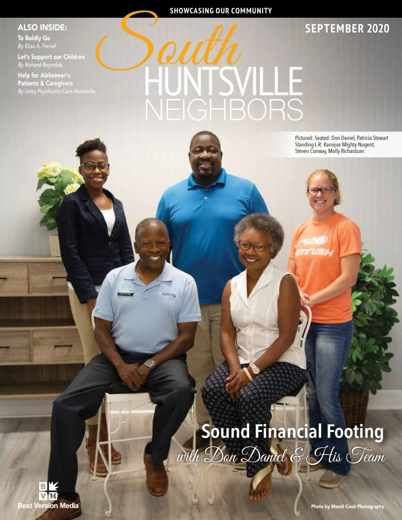 South Huntsville Neighbors September 2020 Cover