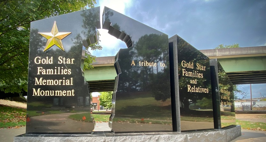 New Memorial in Veterans Park Honors Gold Star Families