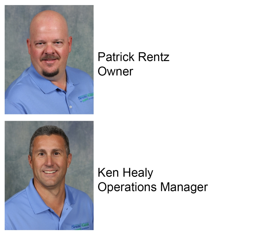 Patrick Rentz and Ken Healy of Spring Green Lawn Care of North Alabama
