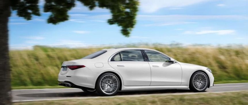 First Class All The Way, With the 2021 Mercedes-BenzS-Class