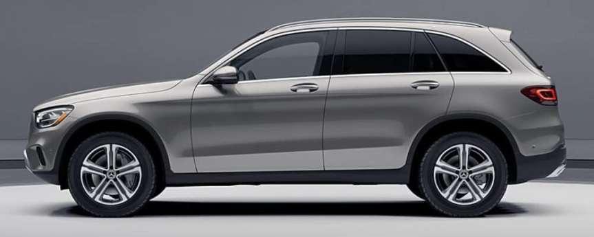 The 2021 Mercedes Benz GLCSUV