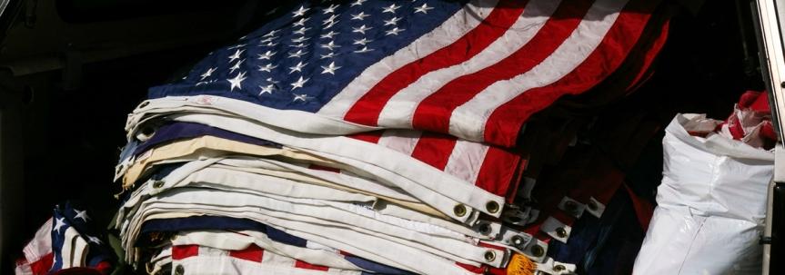Joint U.S. Flags RetirementCeremony